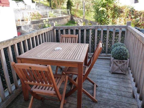 Hôtel La Caravelle: La terrasse de la chambre