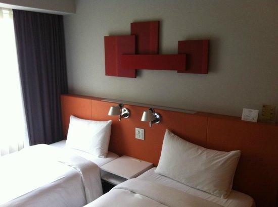 ซิตาดีนส์ ชินจุกุ โตเกียว: twin room 304