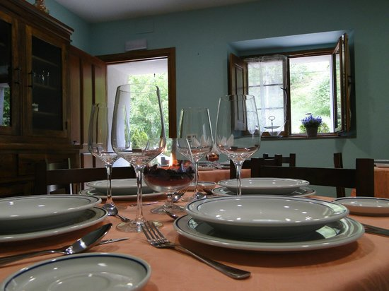 Hotel Rural Riberas del Nalon: Comedor