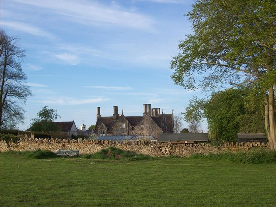 Woolley Grange: view from playing field