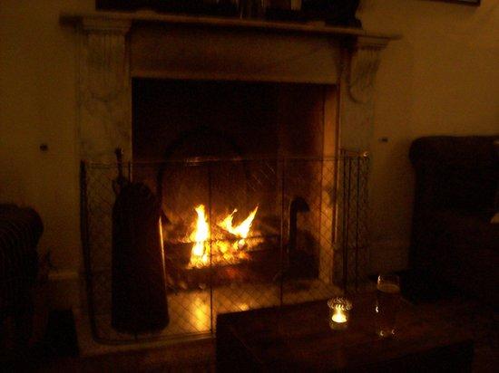 Woolley Grange: yummee fire