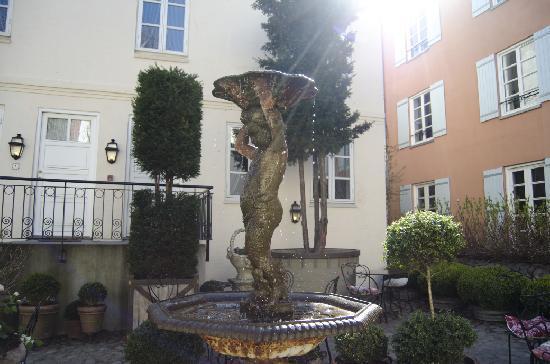 Villa Provence : courtyard
