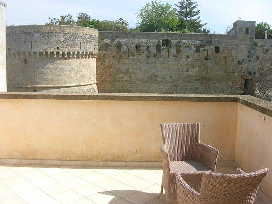 Balconcino d'Oriente B&B: Blick auf die Terrasse