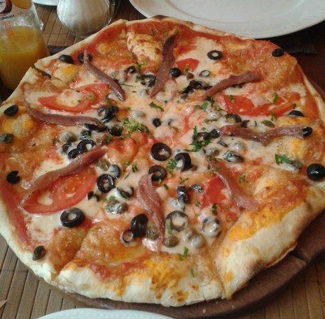 Campo di Fiori: Pizza Puttanesca
