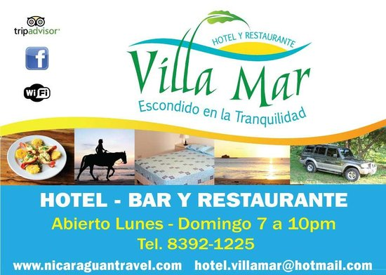 Hostal Villa Mar: Bar & Restaurant