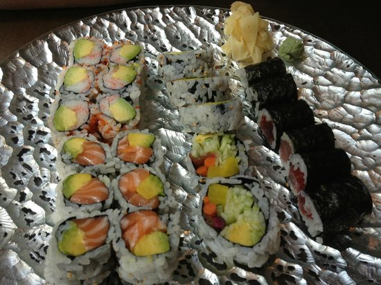 Sushi Damo Damo: sushis