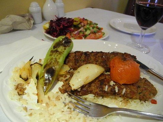 Ekin Restaurant: The meal