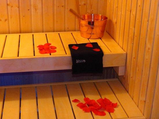 Centro Benessere Shiva Emotional Spa: Avvolgente sauna...