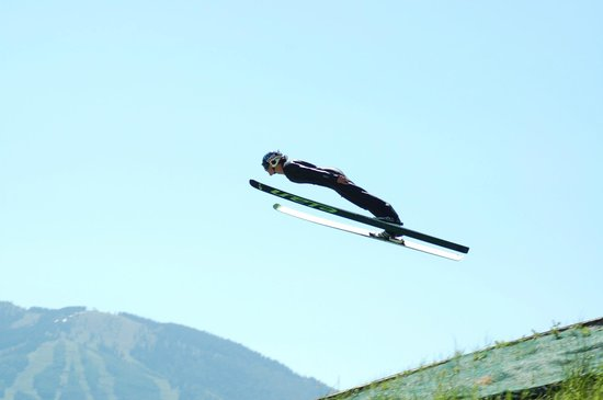 Howelsen Hill Ski Area: Watch summer ski jumping at Howelsen Hill