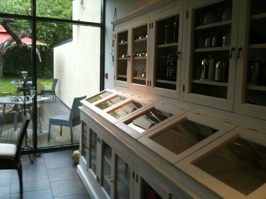 Auberge de Chavannes : Le patio