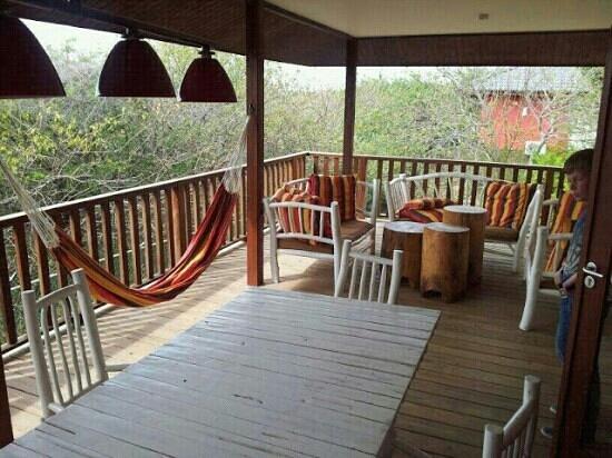 Morena Resort: Achterterras