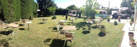 Hotel Relais du Lac : jardin