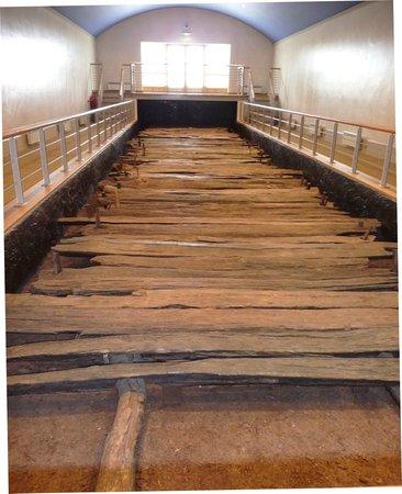 Corlea Trackway Visitor Centre: Excavated trackway 2