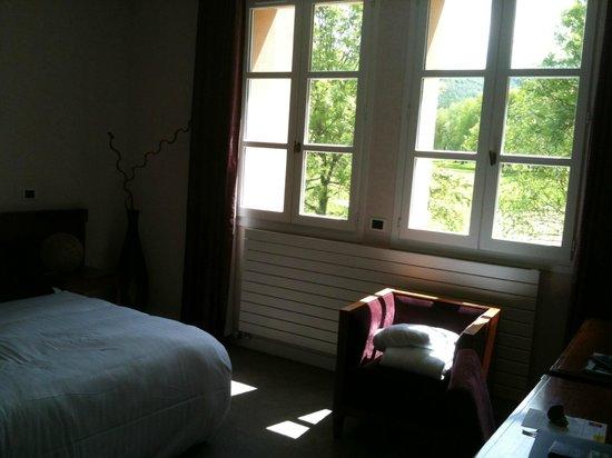 Domaine du Val de Sorne : Chambre avec vue