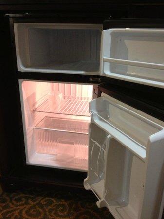 Ayres Hotel Redlands: Super clean mini-fridge (with large freezer!)