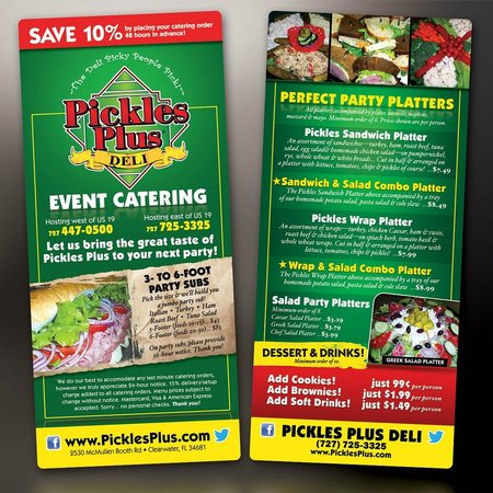Pickles Plus: CATERING & DELIVERY FOR ALL OCCASSIONS