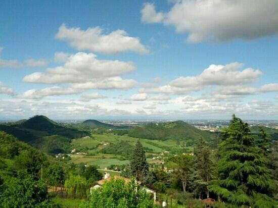 Trattoria al Pirio: vista dalla terrazza