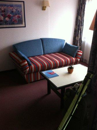 Eurotel Victoria: lounge area