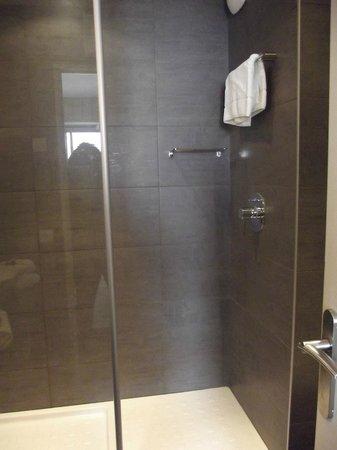 Hotel de la Plage : Douche spatieuse