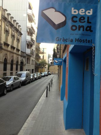Bedcelona Gracia Hostel: Entry hostel