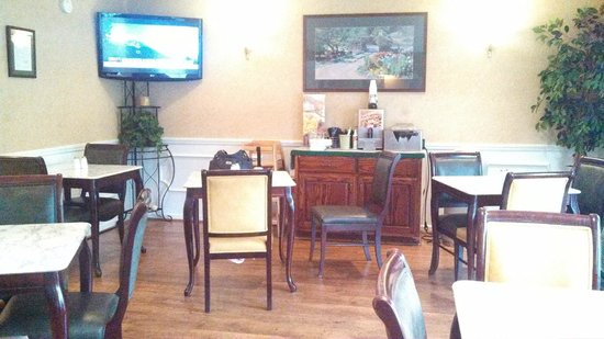 Quality Inn Cheraw: breakfast room