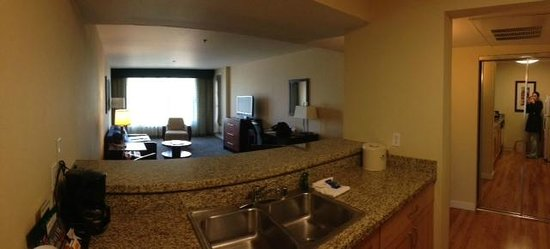 Homewood Suites by Hilton Seattle-Conv Ctr-Pike Street: Living Room