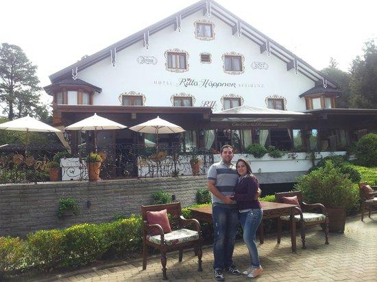 Hotel Ritta Hoppner: A bela entrada do Hotel
