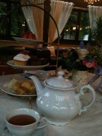 Hotel Ritta Hoppner: O famoso chá da tarde