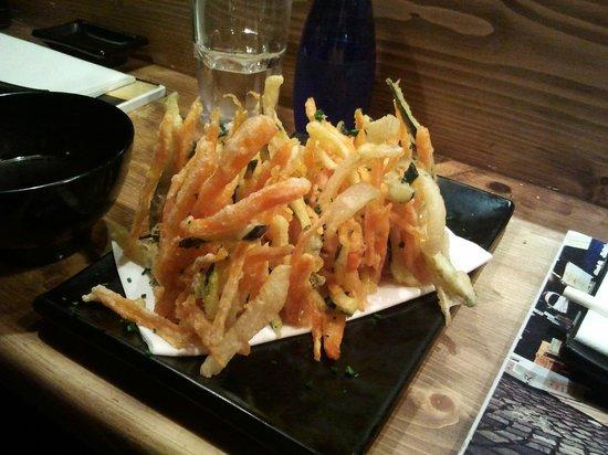 Nakashita: Tempura vegetal