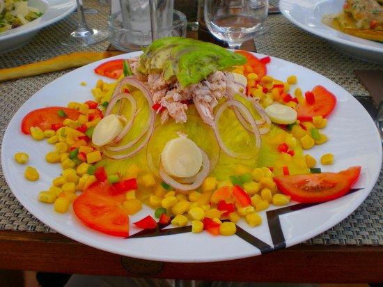 La Note Bleue: My salad!