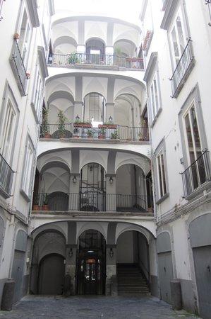 Il Viaggiatore B&B: Courtyard - Il Viaggiatore on 2nd floor