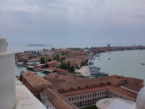 San Giorgio Maggiore: 鐘楼からの眺め