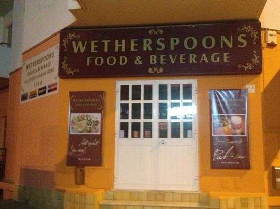 Wetherspoons: Add a caption
