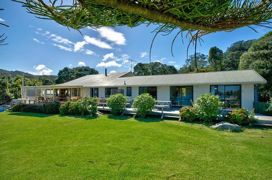 Whangapara, New Zealand: The Lodge