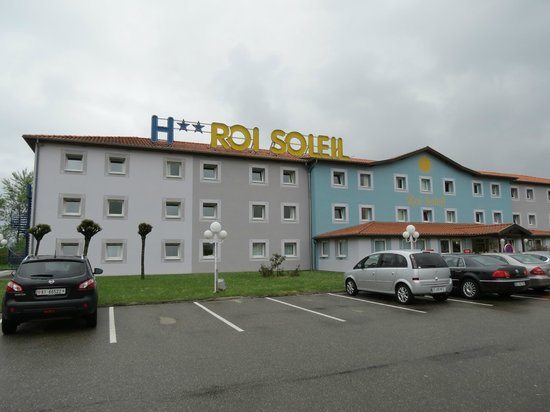 Hotel Roi Soleil Colmar : esterno hotel