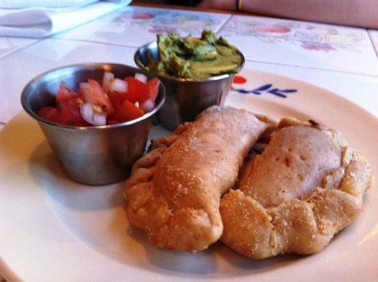 Puree Cafe: Cashew Cheese Empanadas Appetizer