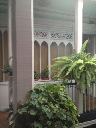 Zohar Hostel: ventanas