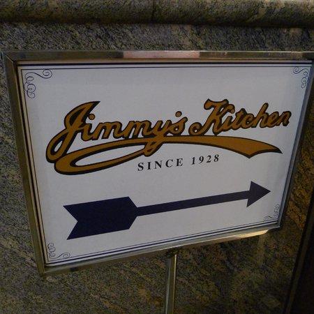 Jimmy's Kitchen Central : Jimmy's Kitchen sign