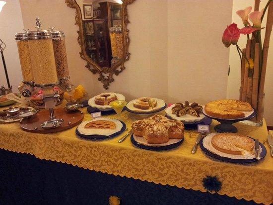 Residence La Contessina: Excelente desayuno, gente cálida y amable