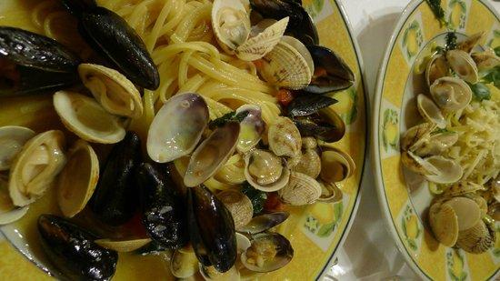 Ristorante Da Filippo : Lovely shell fish