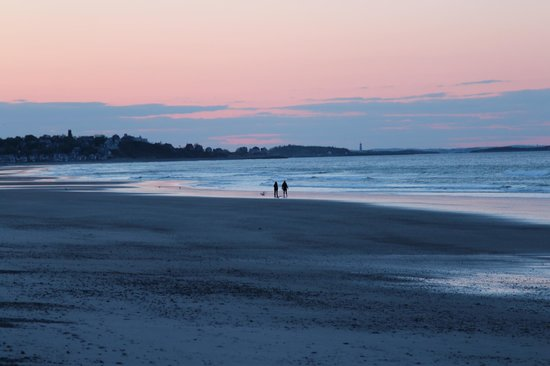 Nantasket Beach Resort: Strand am Hotel