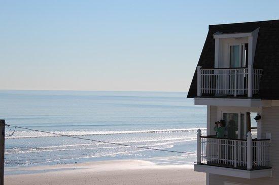 Nantasket Beach Resort: Aussicht von unserem Balkon