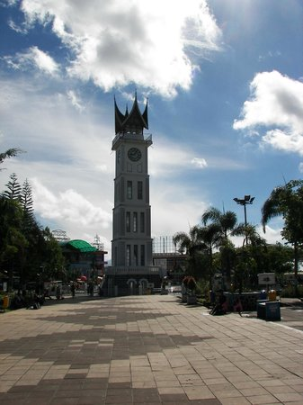 Bukittinggi Clock Tower: The Clock Tower