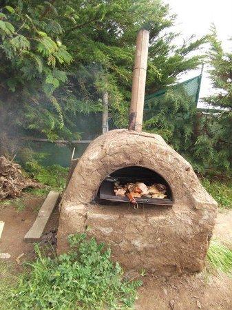 Surfarm: Typical chilean mud oven