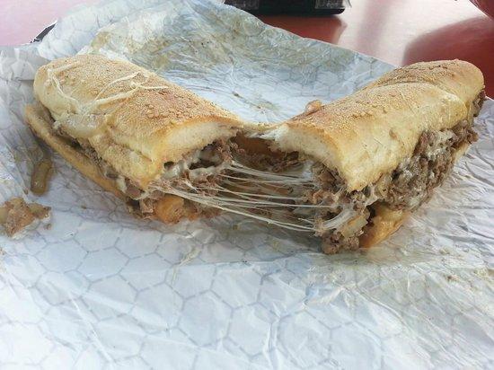 John's Roast Pork: Philly Cheese Steak