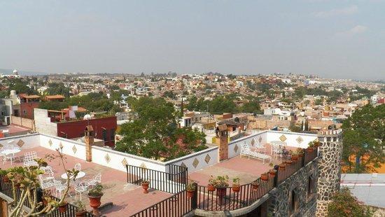 Hotel Posada de las Monjas: Vista desde la terrasa