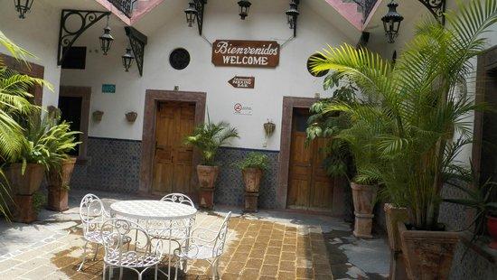 Hotel Posada de las Monjas: patio
