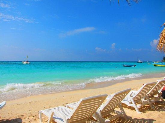 Paradise Beach Hotel: Vista desde el bar del hotel