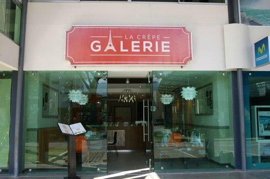 Fachada de La Crepe Galerie en Lindora