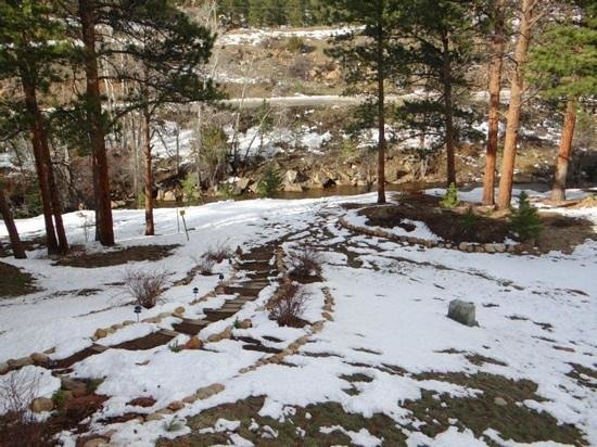 RiverWood on Fall River: After the snow started to melt